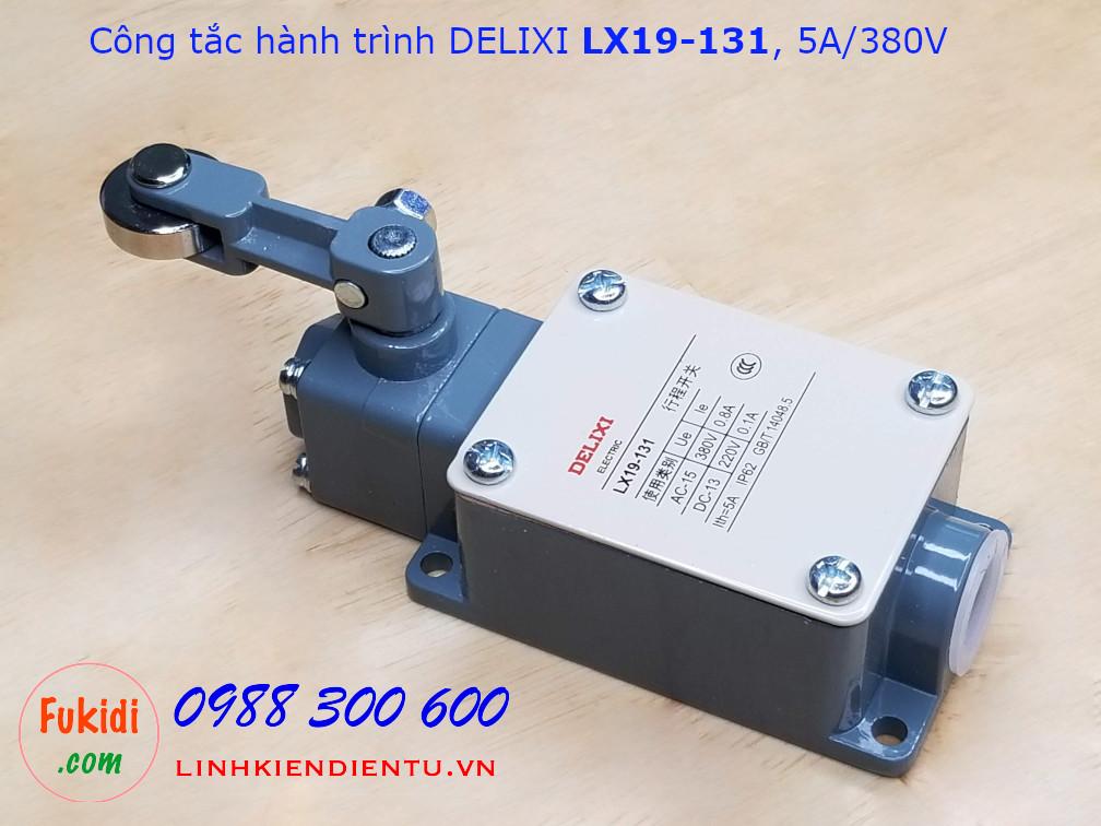 Công tắc hành trình Delixi LX19-131 5A/380VAC