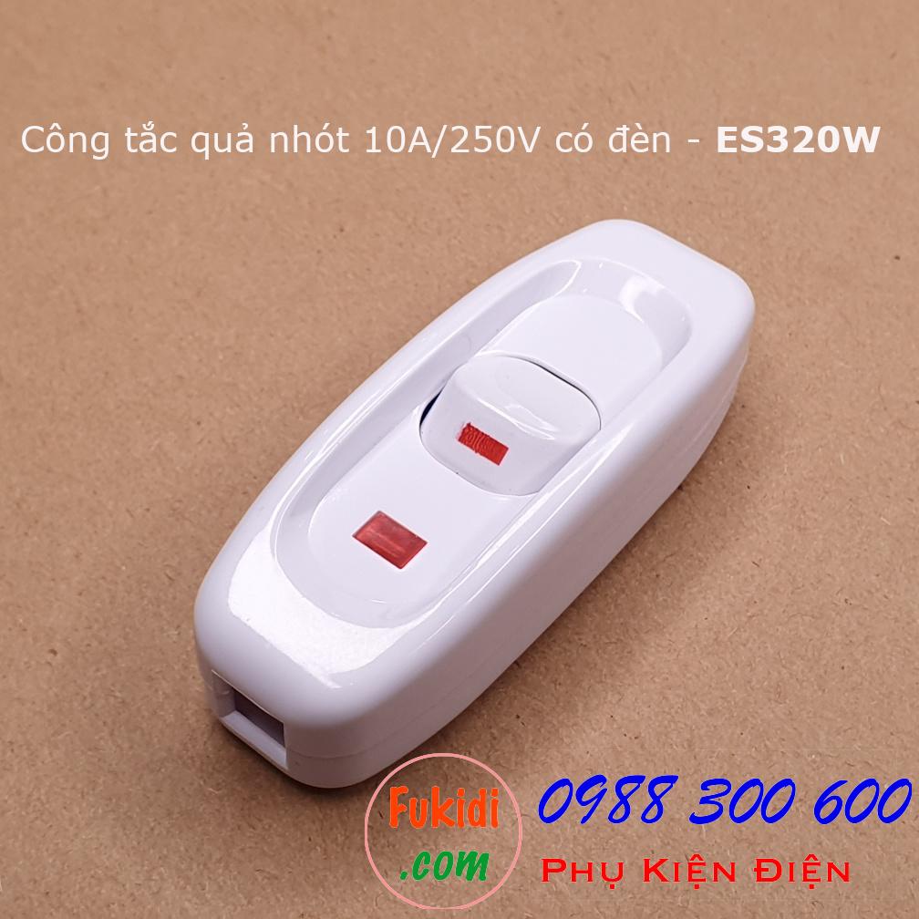Hình ảnh riêng của công tắc ES320 màu trắng