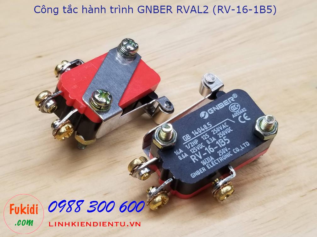 Công tắc hành trình GNBER RVAL2 (RV-16-1B5)