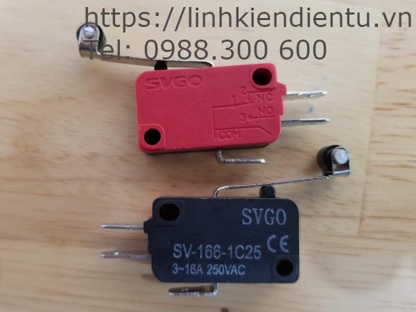 Công tắc hành trình SVGO RV-166-1C25 16A/250V