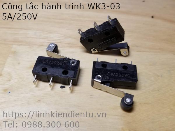 Công tắc hành trình WK3-03 5A/250V