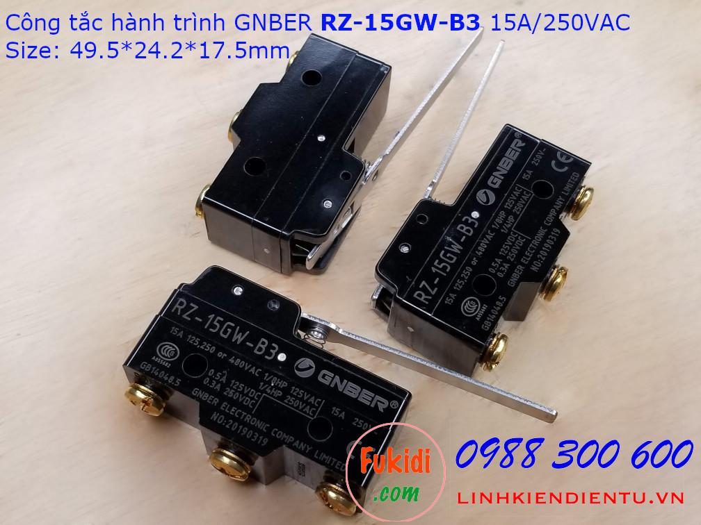 Công tắc hành trình GNBER RZ-15GW-B3