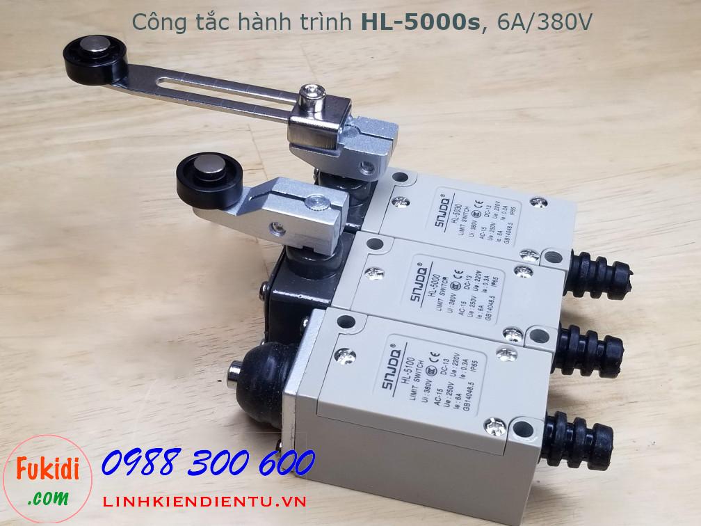Công tắc hành trình HL-5100 6A 250V