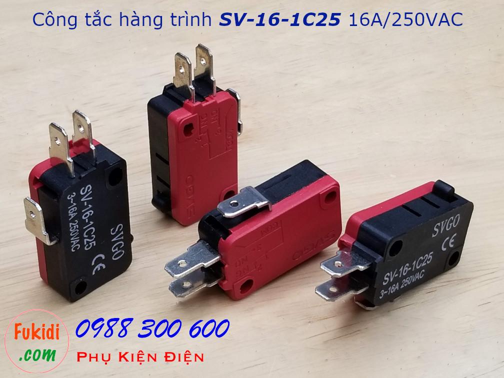 Công tắc hành trình SVGO SV-16-1C25 16A/250V