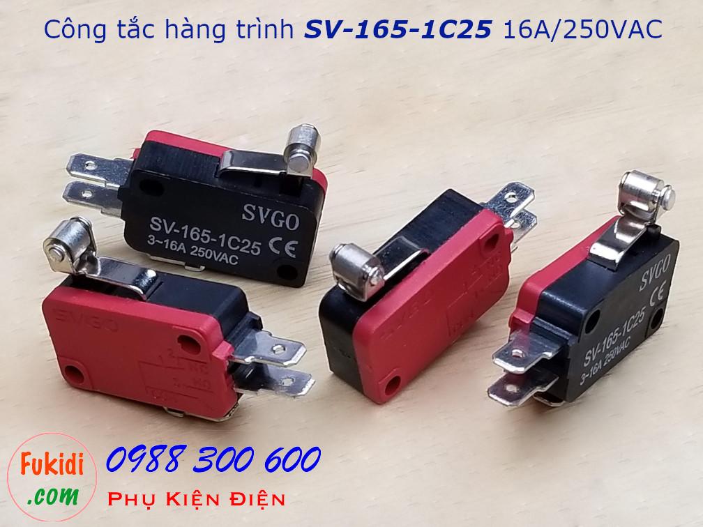 Công tắc hành trình SVGO SV-165-1C25 16A/250V