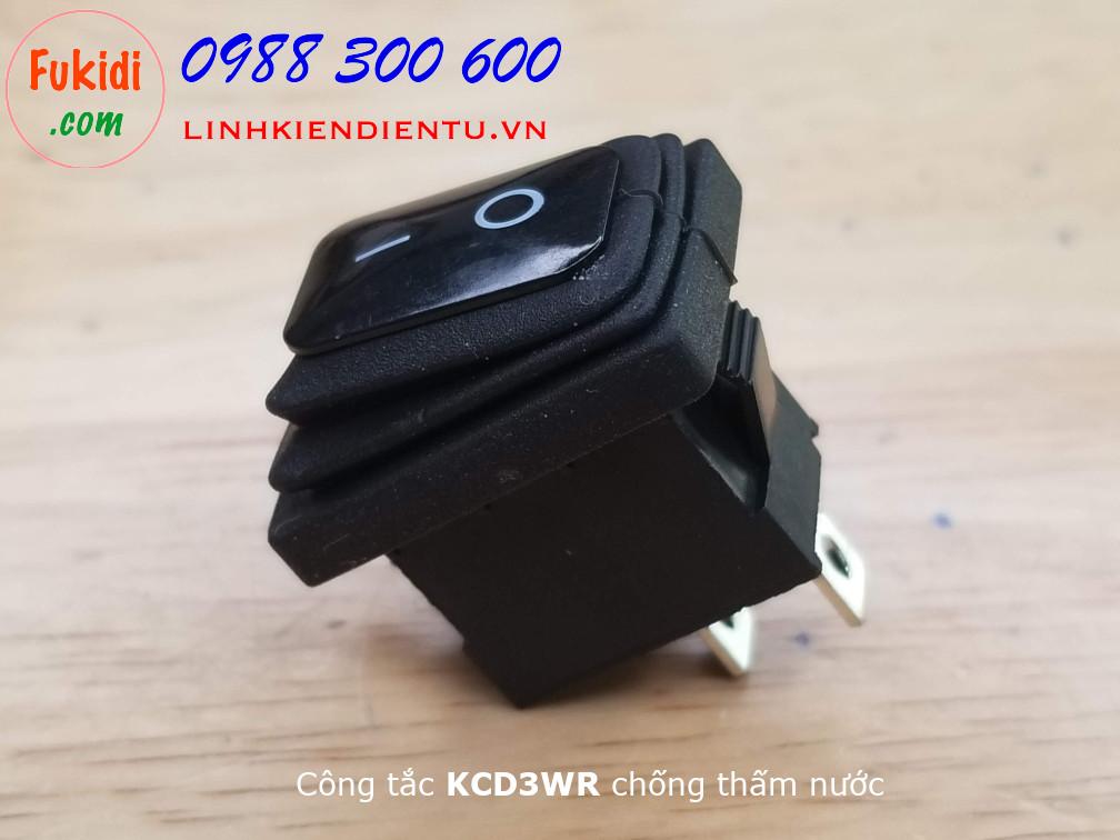 Công tắc bập bênh KCD3 chống thấm nước - KCD3WR