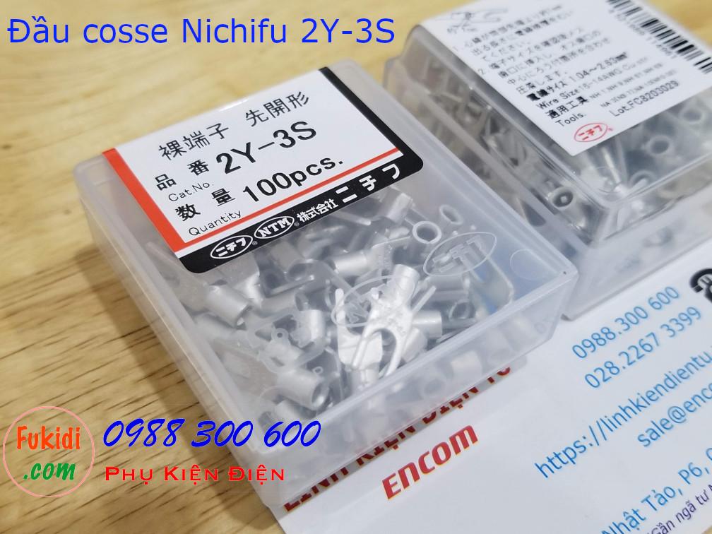 Đầu cosse chữ Y Nichifu 2Y-3S