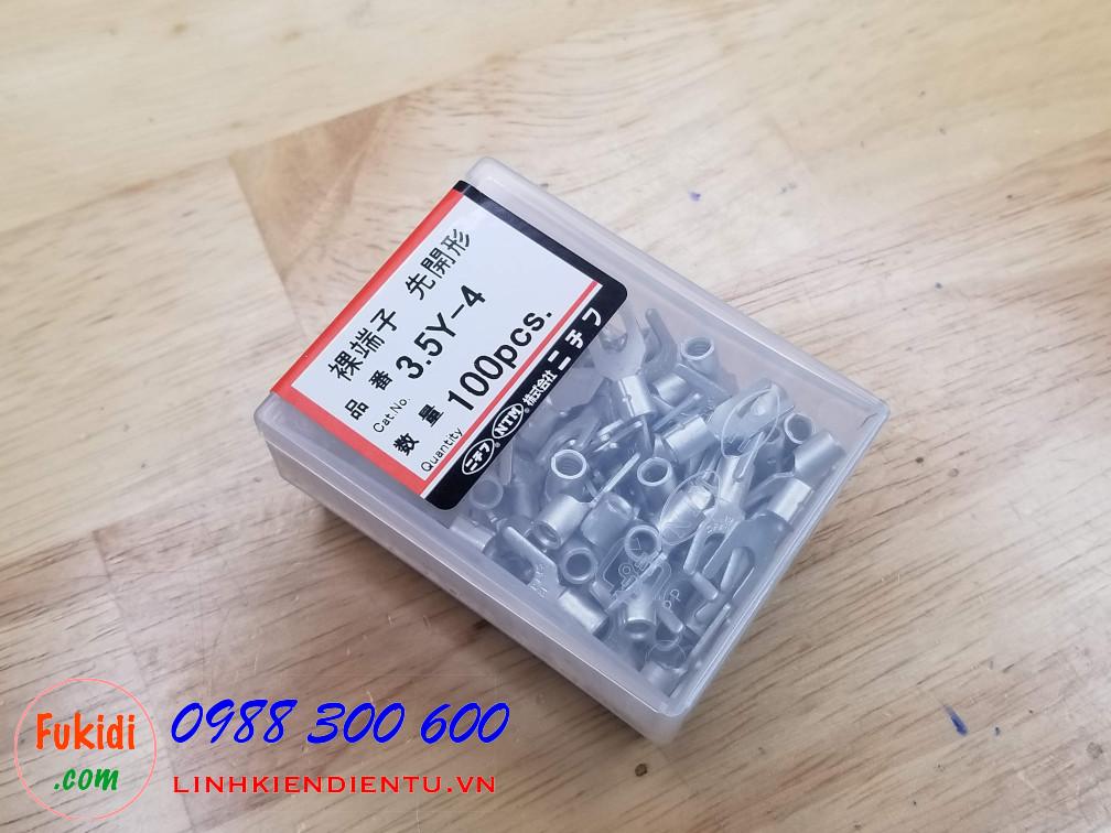 Đầu bấm dây điện, (đầu cosse) Nichifu 3.5Y-4