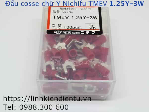 Đầu cosse chữ Y Nichifu TMEV 1.25Y-3W