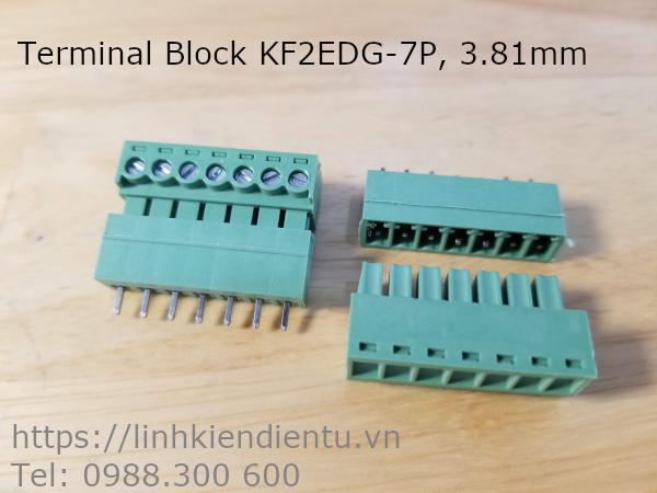 Terminal Block Socket KF2EDG 3.81mm