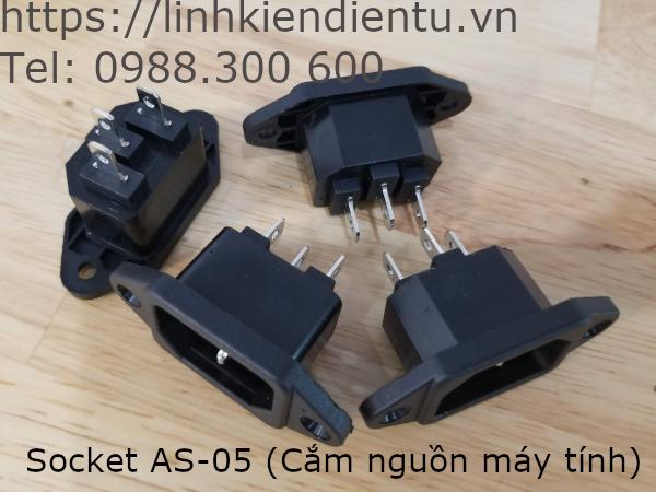 Socket AS-05 - cắm dây nguồn máy tính
