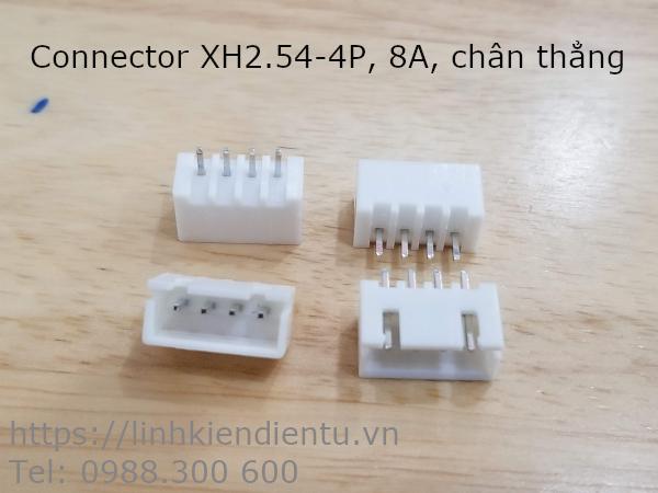 Jack cắm XH2.54-4P đực, 4 chân thẳng