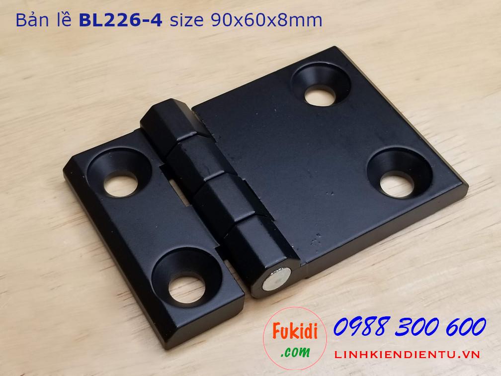 Bản lề nhôm BL226-4 kích thước 60x90mm