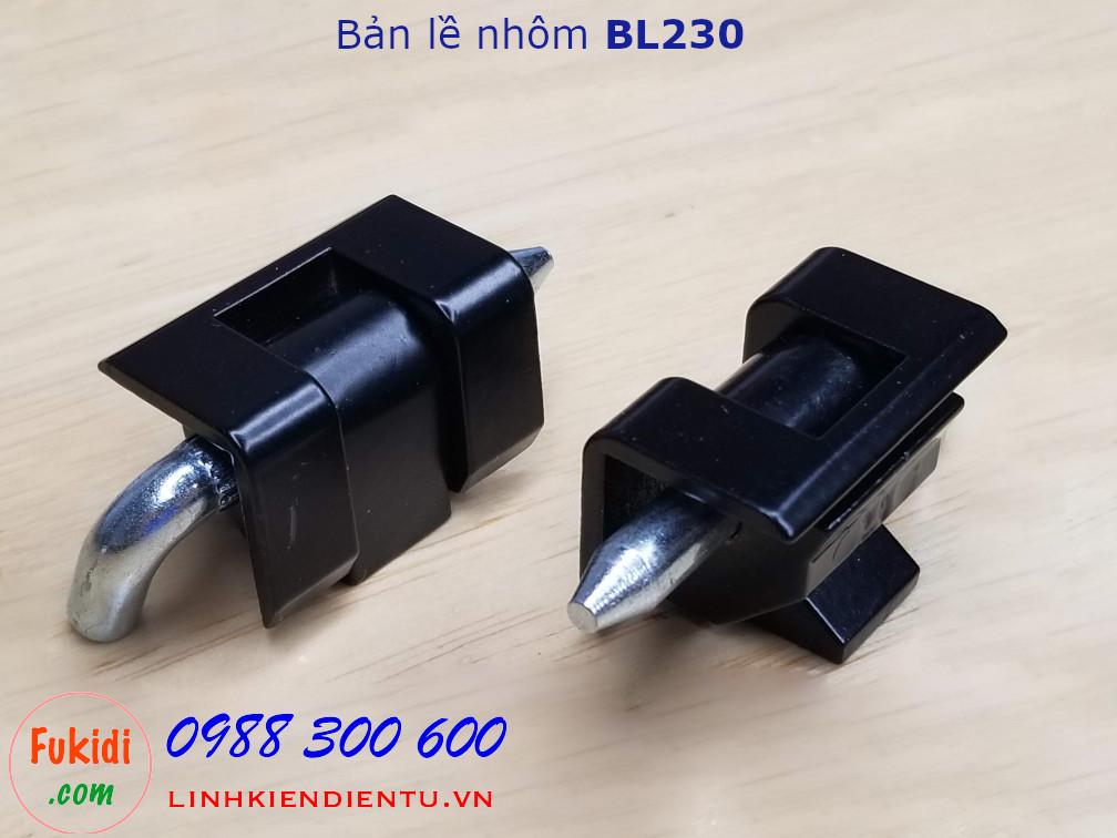 Bản lề tủ điện nhôm nguyên khối BL230, CL230