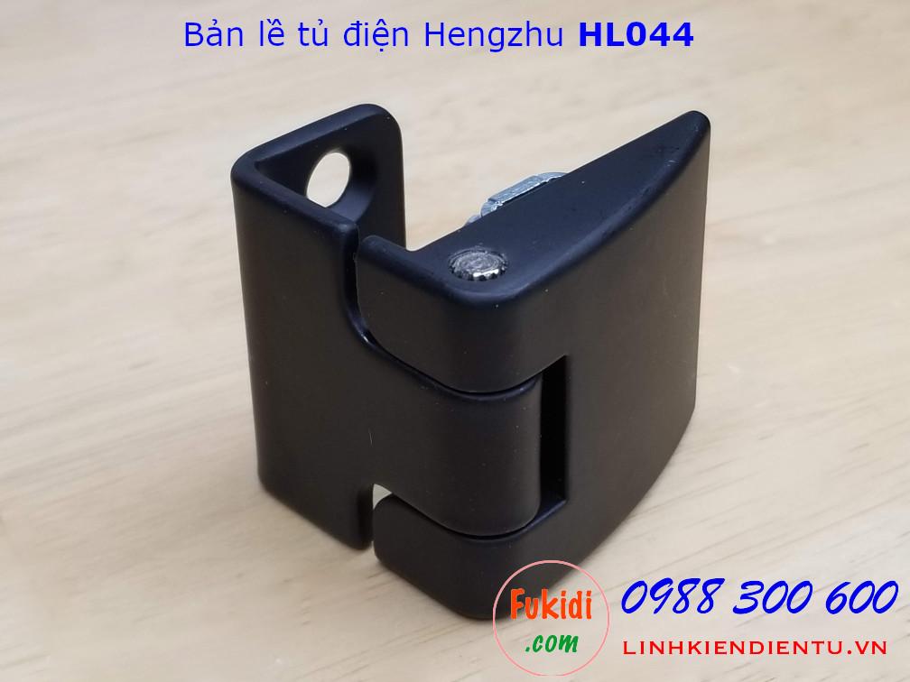 Bản lề tủ điện HL044 chất liệu hợp kim kẽm, size 46x40mm màu đen