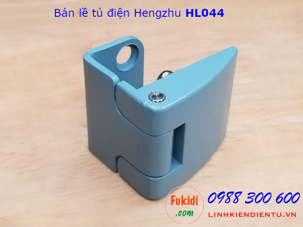 Bản lề tủ điện HL044 chất liệu hợp kim kẽm, size 46x40mm màu xanh - HL044G