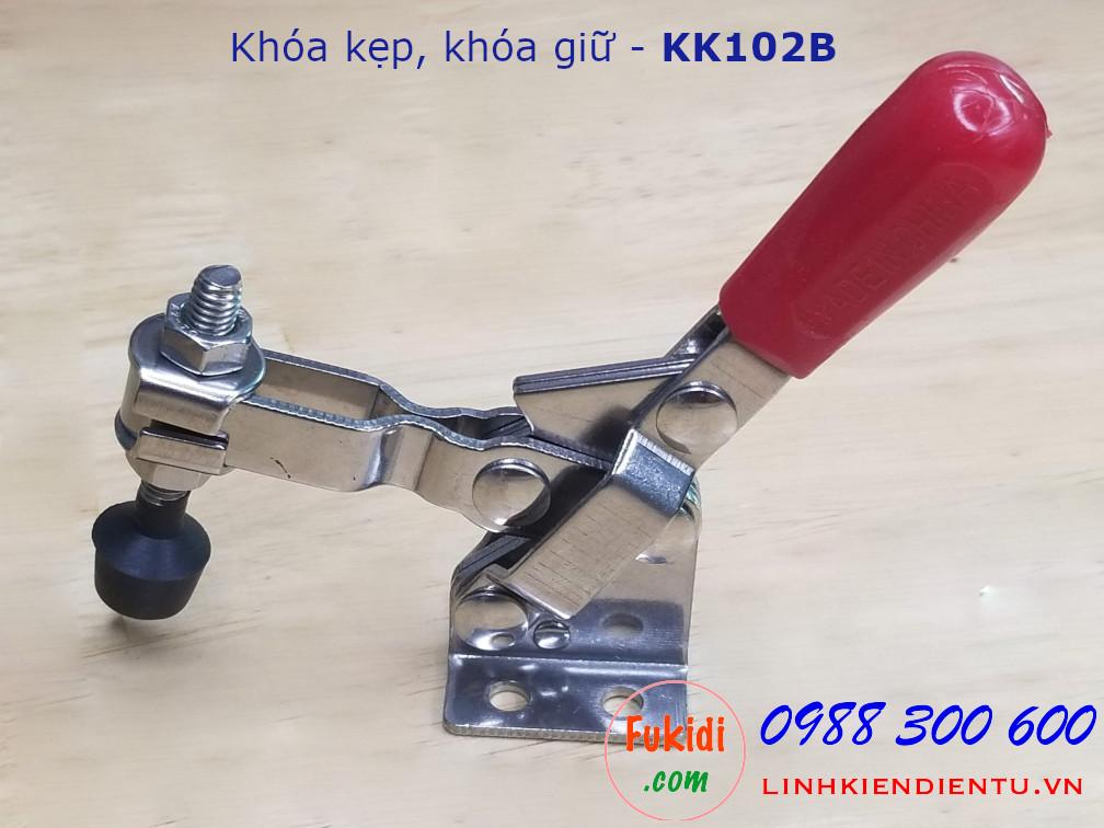 Khóa kẹp inox dùng cố định sản phẩm trong khi chế biến - KK102B