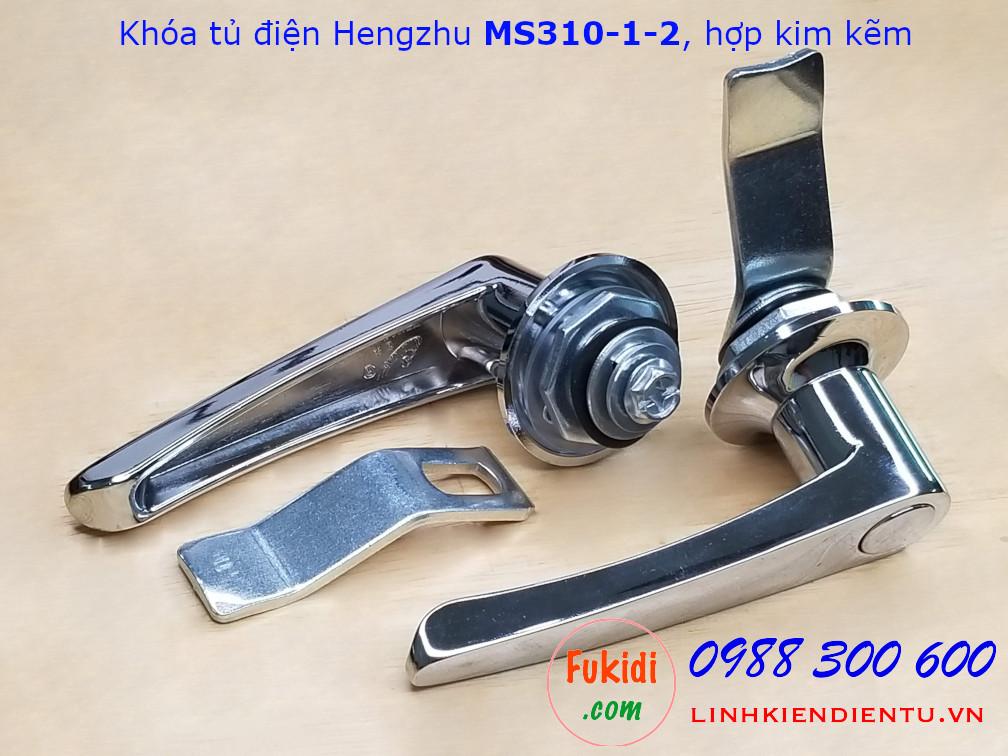 Khóa tủ điện Hengzhu MS310-1-2 hợp kim kẽm không chìa