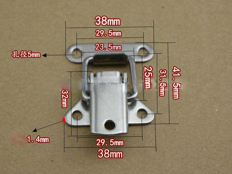 Khóa gài inox 304 size 41x38mm - KG4138