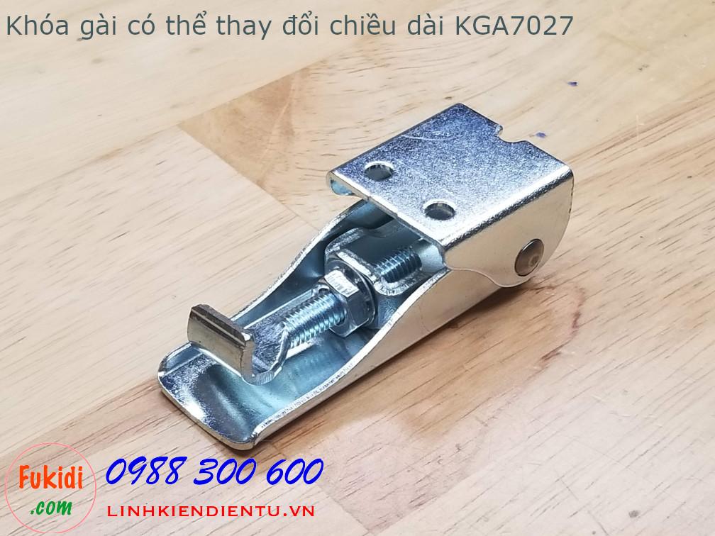 Móc khóa gài thép có thể điều chỉnh độ dài tay kéo KGA7027