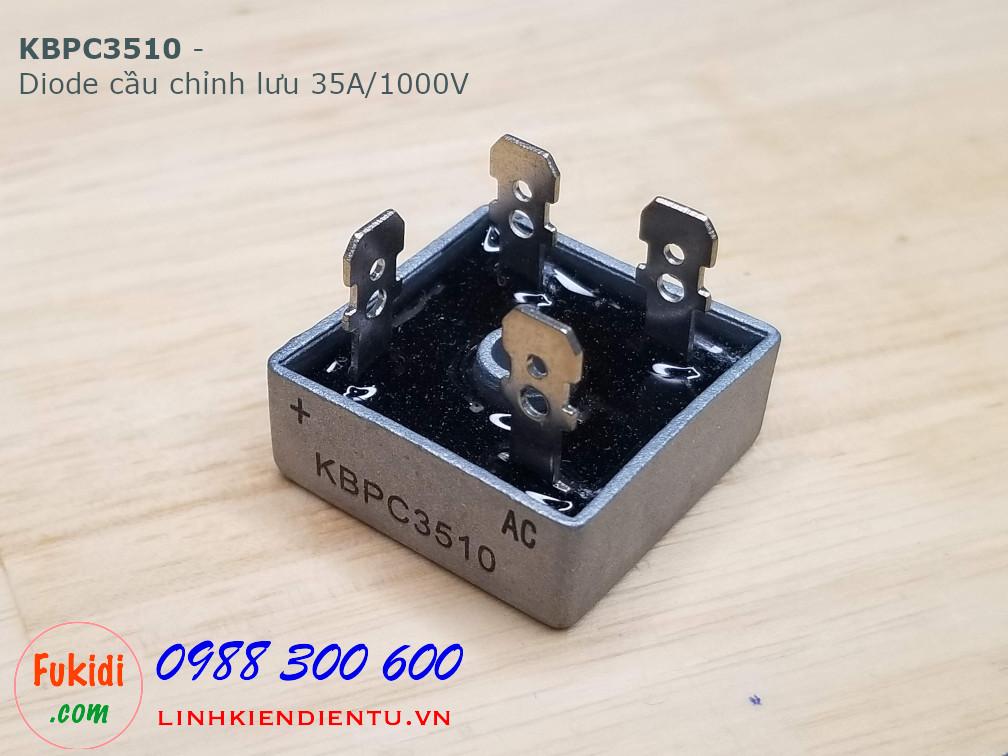 KBPC3510 Diode cầu chỉnh lưu 35A/1000V