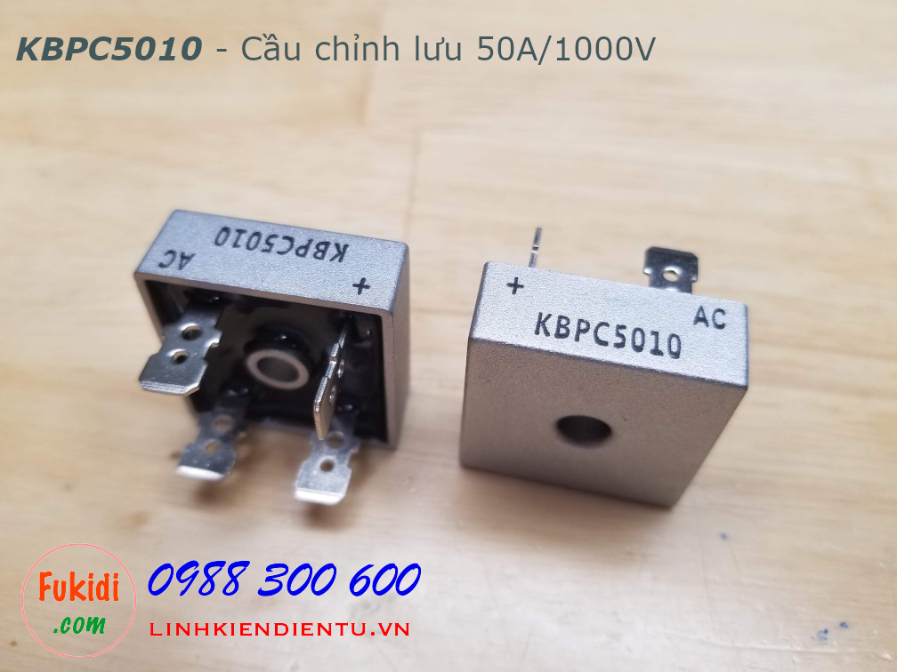 KBPC5010 cầu chỉnh lưu một pha 50A 1000V