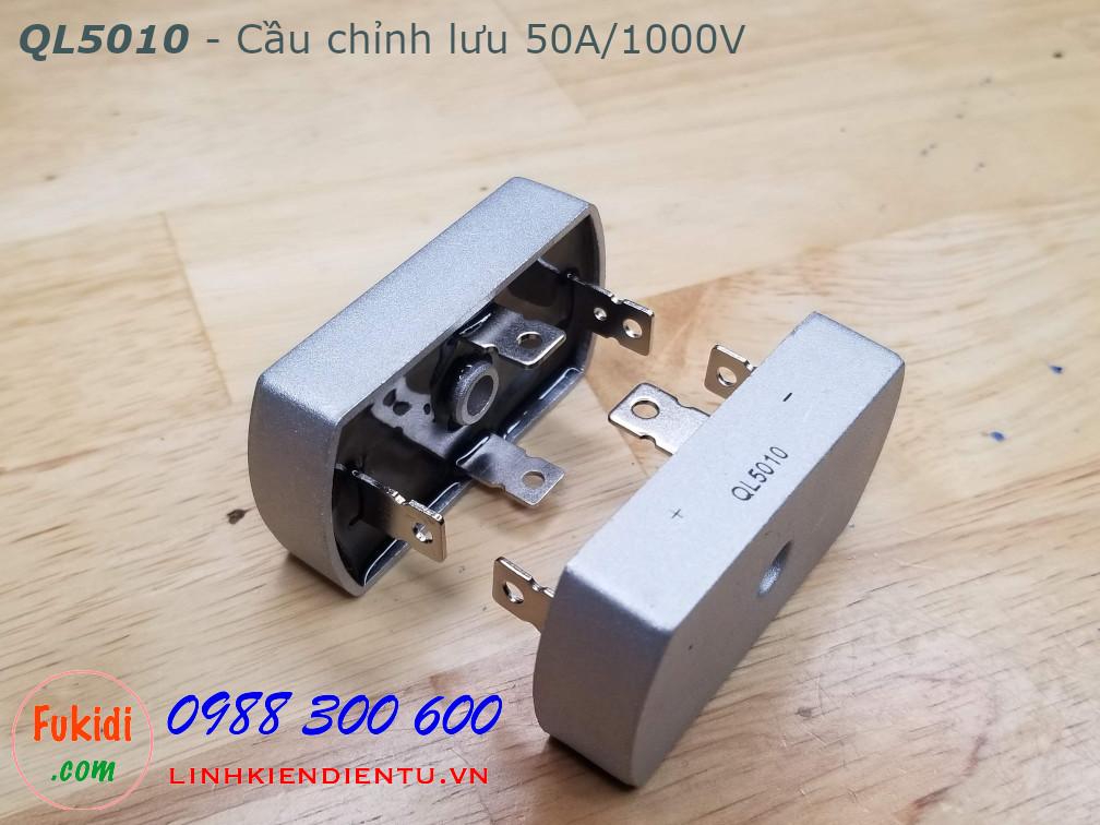 QL5010 cầu chỉnh lưu một pha 50A 1000V