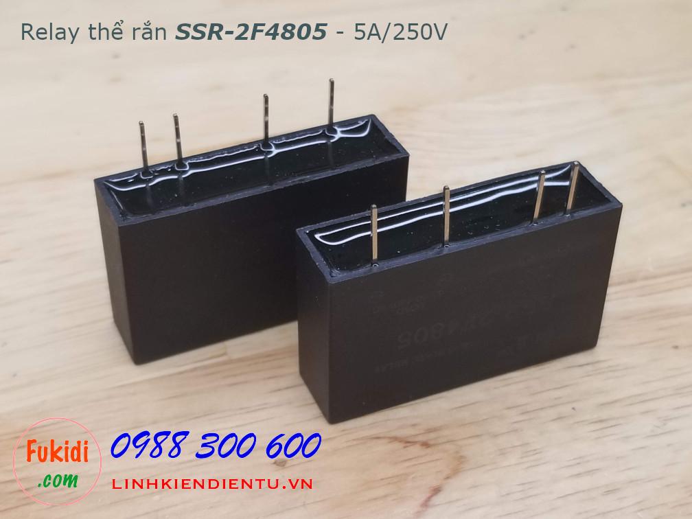 Relay rắn SSR-2F4805 5A/250VAC, điều kiển 3-32VDC