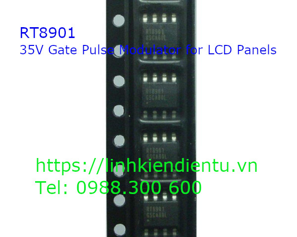 RT8901 - 35V Gate Pulse Modulator for LCD Panels