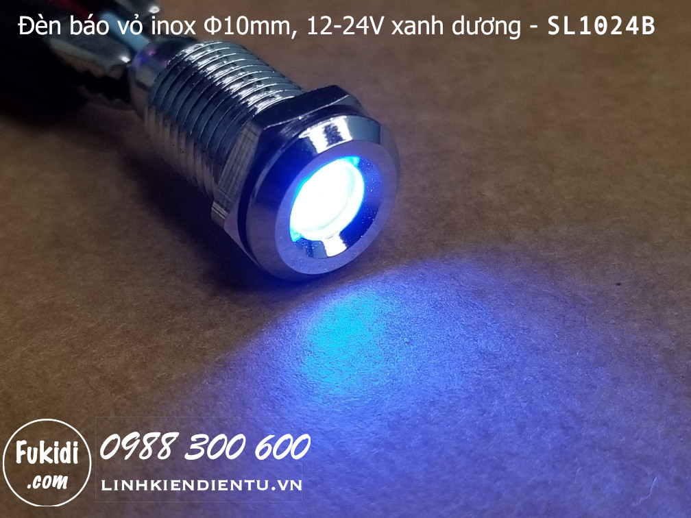 Khi đèn báo SL1024B được cấp điện và sáng đèn