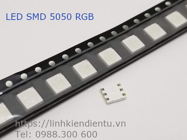 LED SMD  5050 RGB