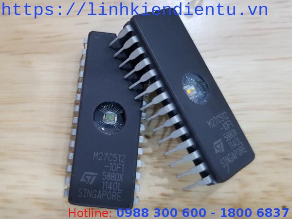 M27C512-10f1 - 64KByte UV EPROM