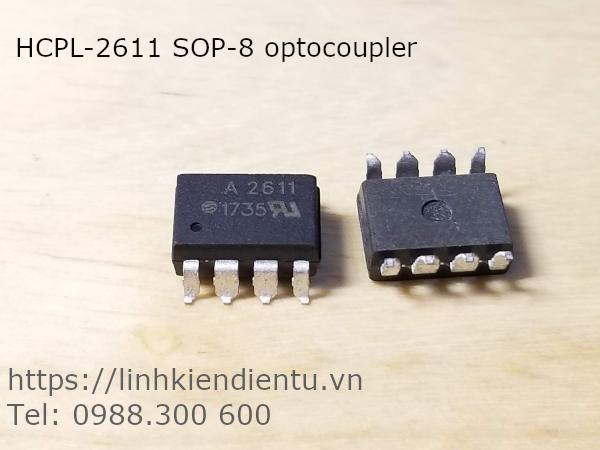 HCPL-2611 SOP-8 optocoupler
