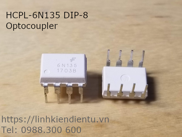 HCPL-6N135 High Speed Optocoupler DIP-8