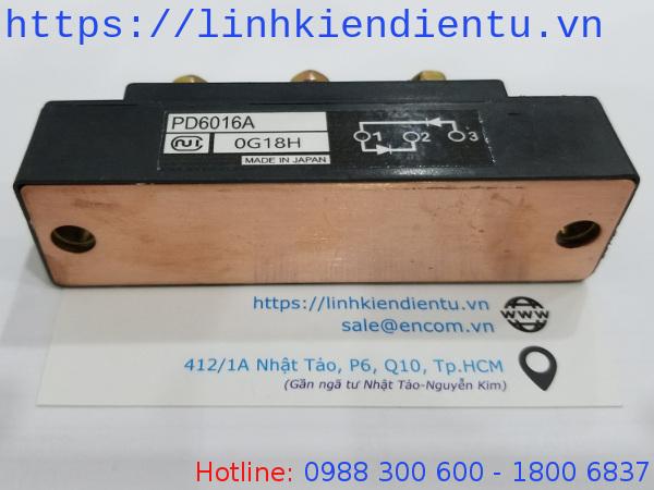 NIEC PD6016A, PD6016, PD6016 60A, 1600V IGBT Diode đã mở bao bì