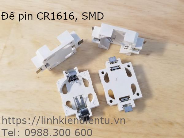 Đế Pin CR1616 SMD
