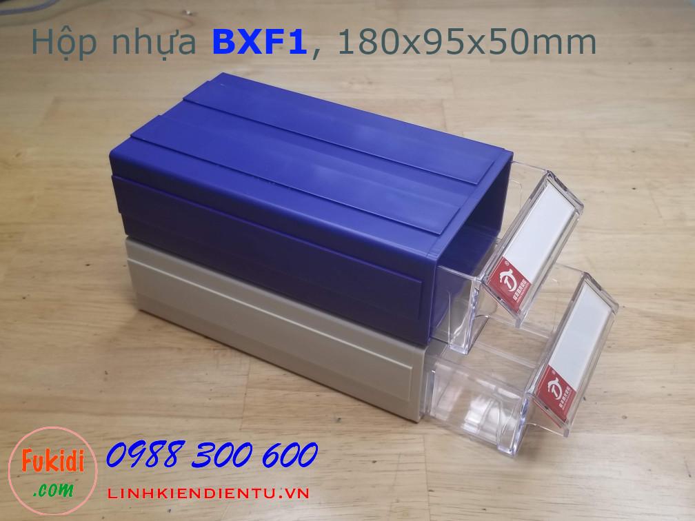 Hộp nhựa đa năng và hay dùng đựng linh kiện 180x95x50mm BXF1