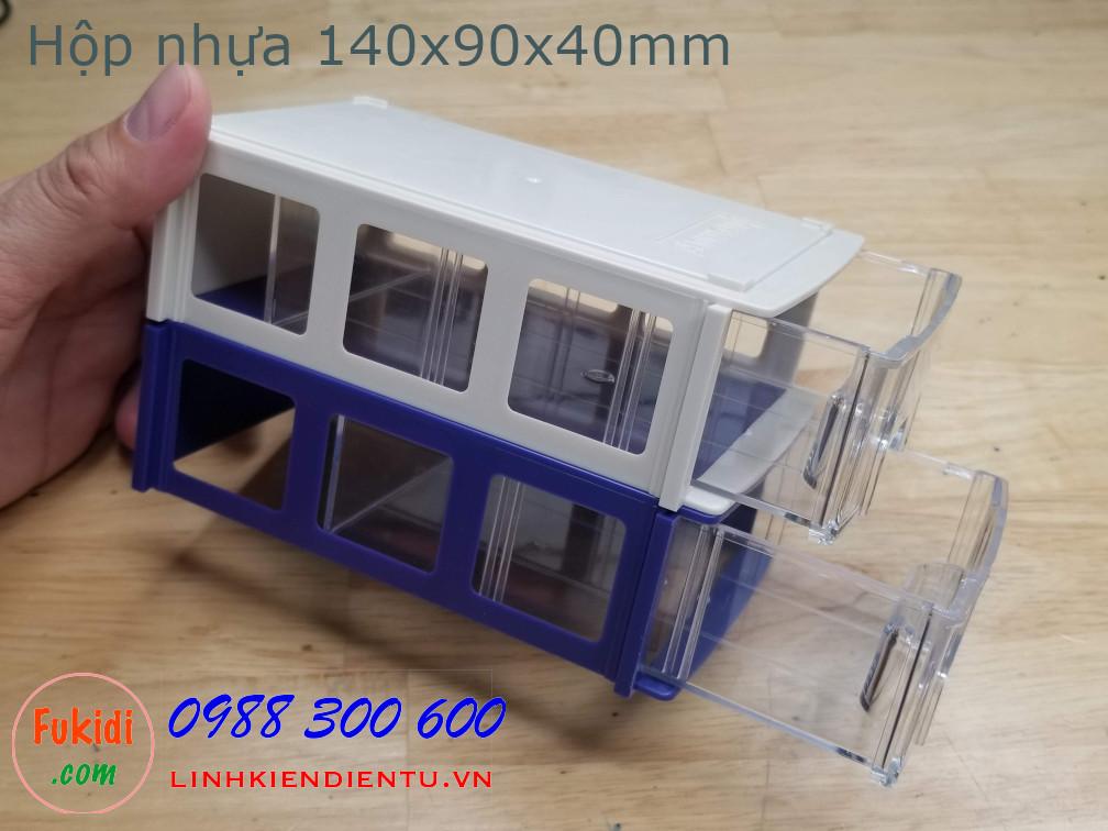 Hộp nhựa đa năng size 140x90x40mm model BXF0