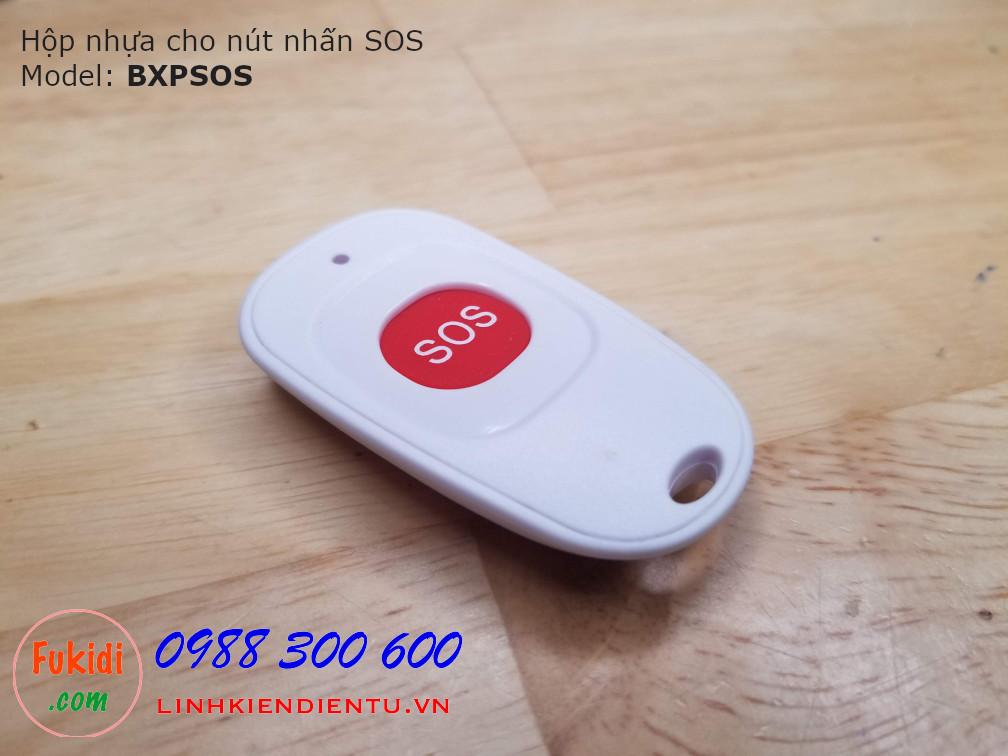 Vỏ hộp nhựa dùng làm nút nhấn SOS - BXPSOS
