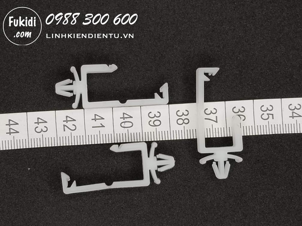 CH-1 nút khóa dây điện gắn trên board mạch 11x11.2mm