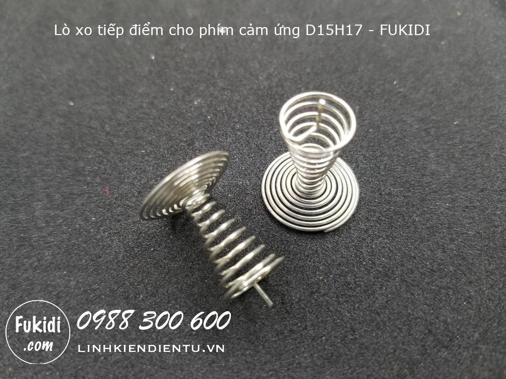 D15H17 dây cảm ứng, lò xo cảm ứng điện dung, nối từ PCB sang bề mặt tiếp xúc cảm ứng