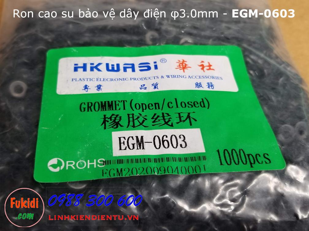Một gói EGM-0603 chứa 1000 cái