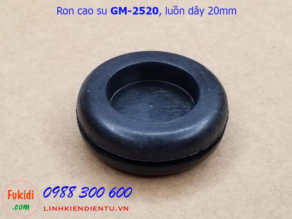 Vòng đệm, ron cao su phi 25mm, luồn dây 20mm GM-2520 - GM2520