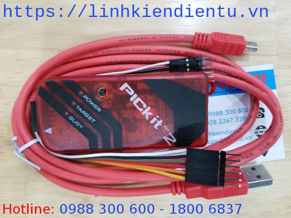 Mạch nạp pickit2 full: nạp và debug code cho vi xử lý PIC