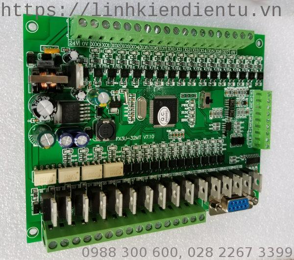 Board PLC FX3U-32MT-2AD-2DA
