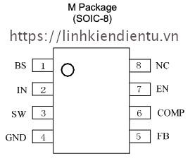 M3202S soic-8 pinout