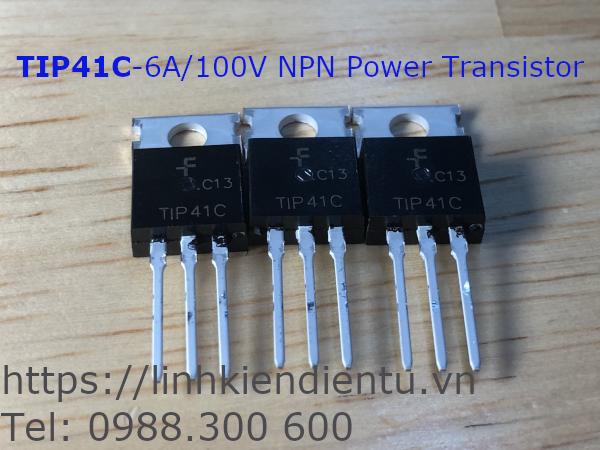 TIP41C - 6A/100V NPN Power Transistor