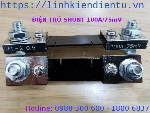 Điện trở shunt 100A/75mV FL-2