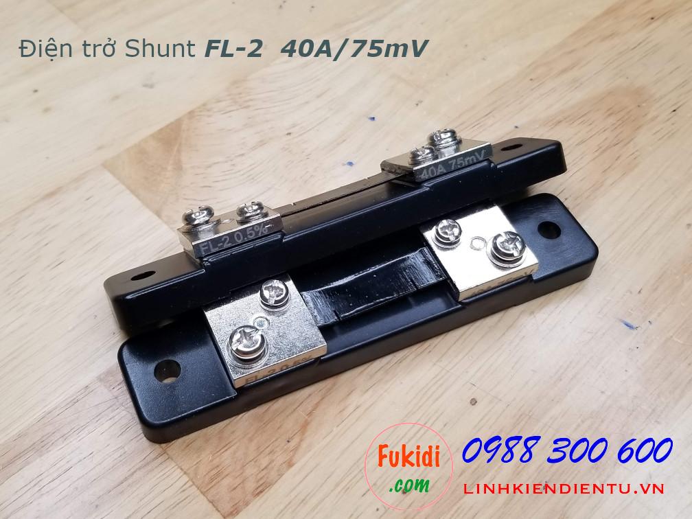 Điện trở shunt FL-2 40A/75mV sai số 0.5%