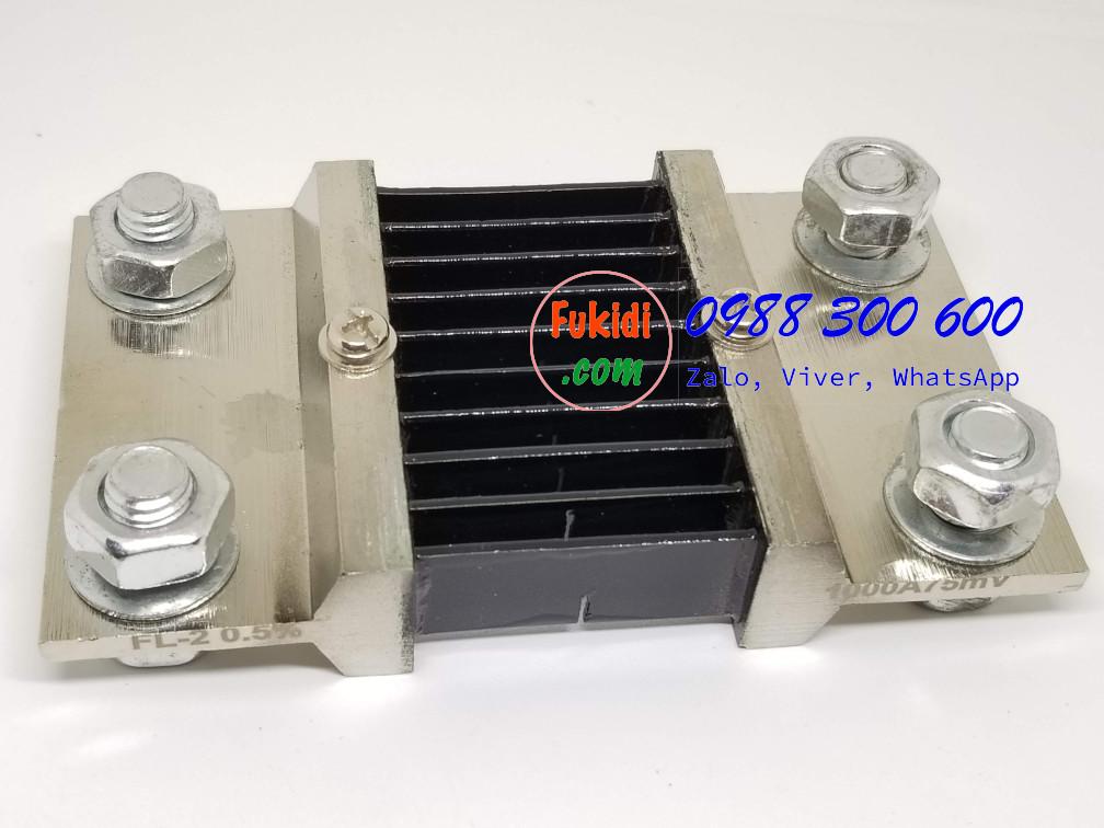 Điện trở Shunt FL-2, 1000A/75mV